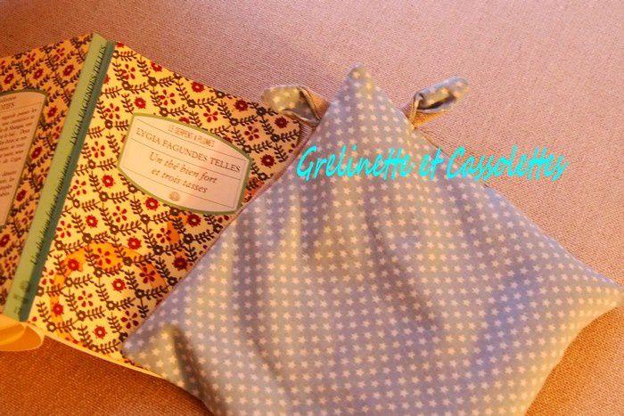 DIY : Bouillotte sèche en lin et coton avec le Tapis de Découpe Pivotant Fiskars
