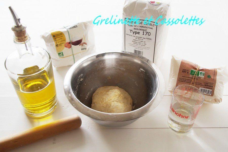 Tarte acidulée, aux Pommes et au Beurre de Cassis de Nuits Saint Georges