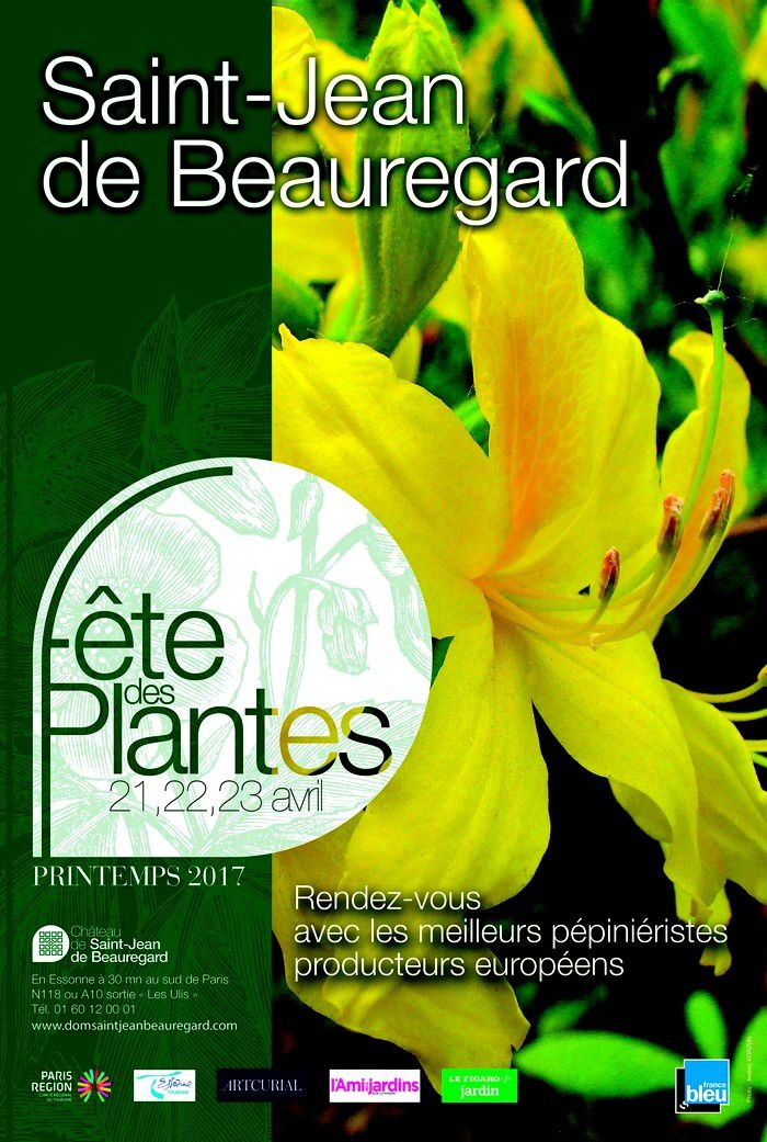 Fragrances et Parfums à la Fête des Plantes de Saint Jean de Beauregard, Printemps 2017