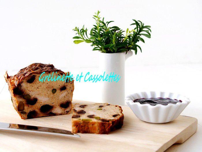 Terrine de Poulet aux Pistaches et aux Olives, light
