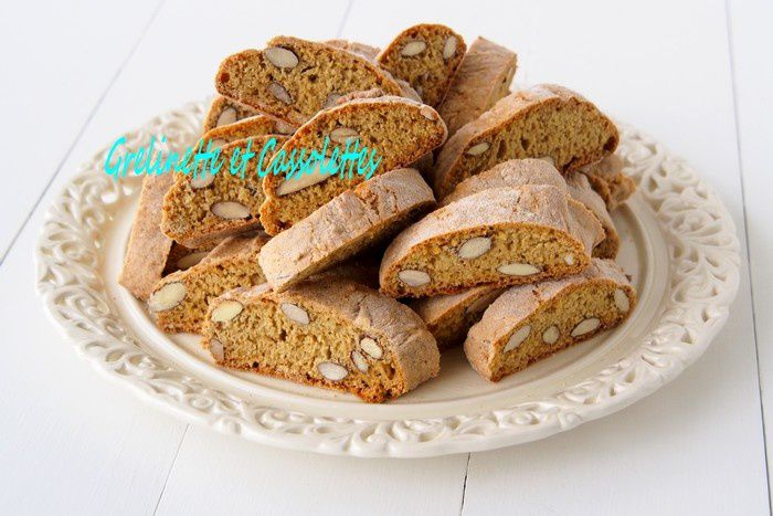 Cantuccini, comme à Florence