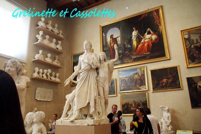 Firenze 4, Galleria dell'Accademia et le David de Michel Ange mais pas que...