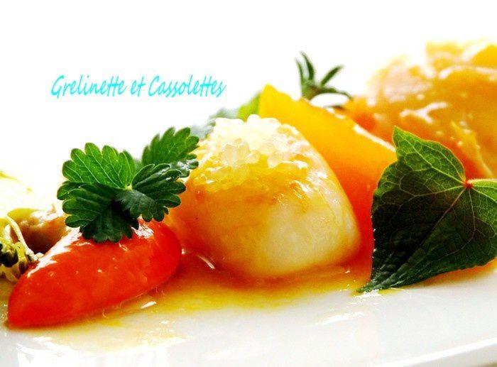 Saint Jacques au Citron Caviar