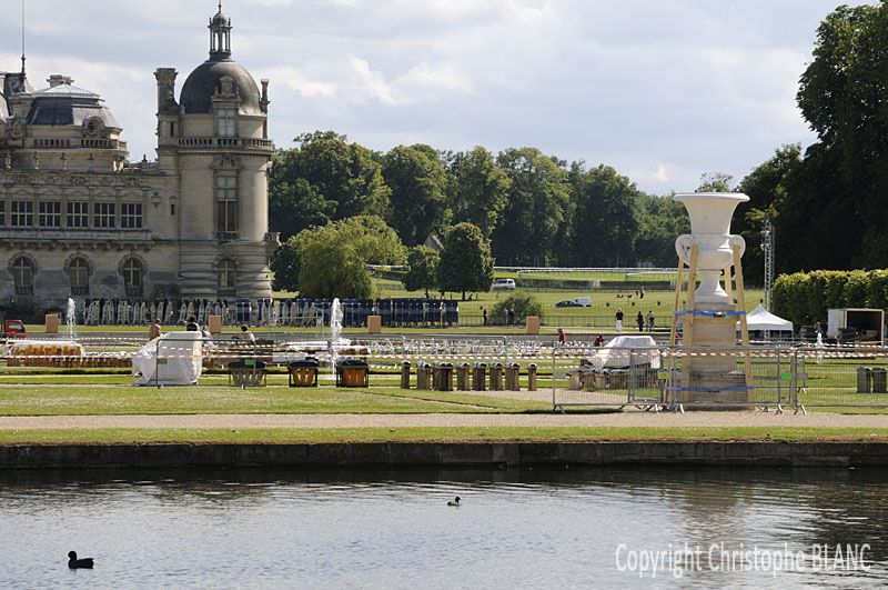 Les Feux de Chantilly : J - 4
