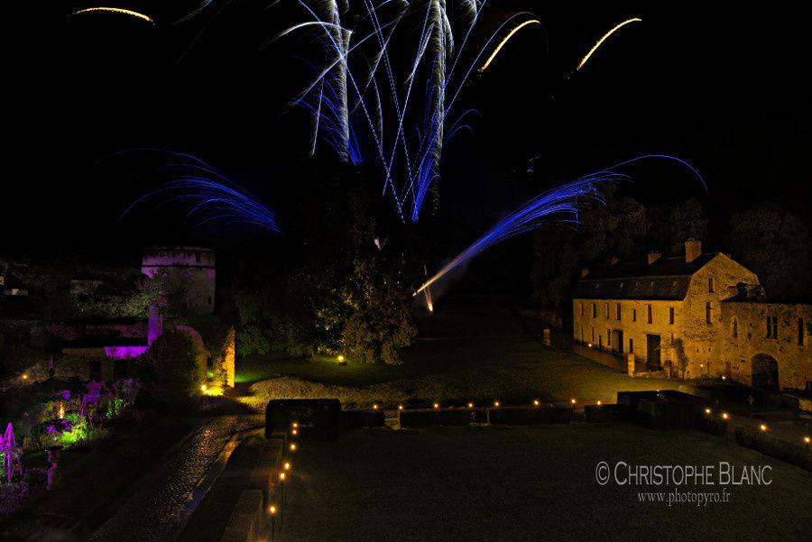 Soirée privée au château de Vallery