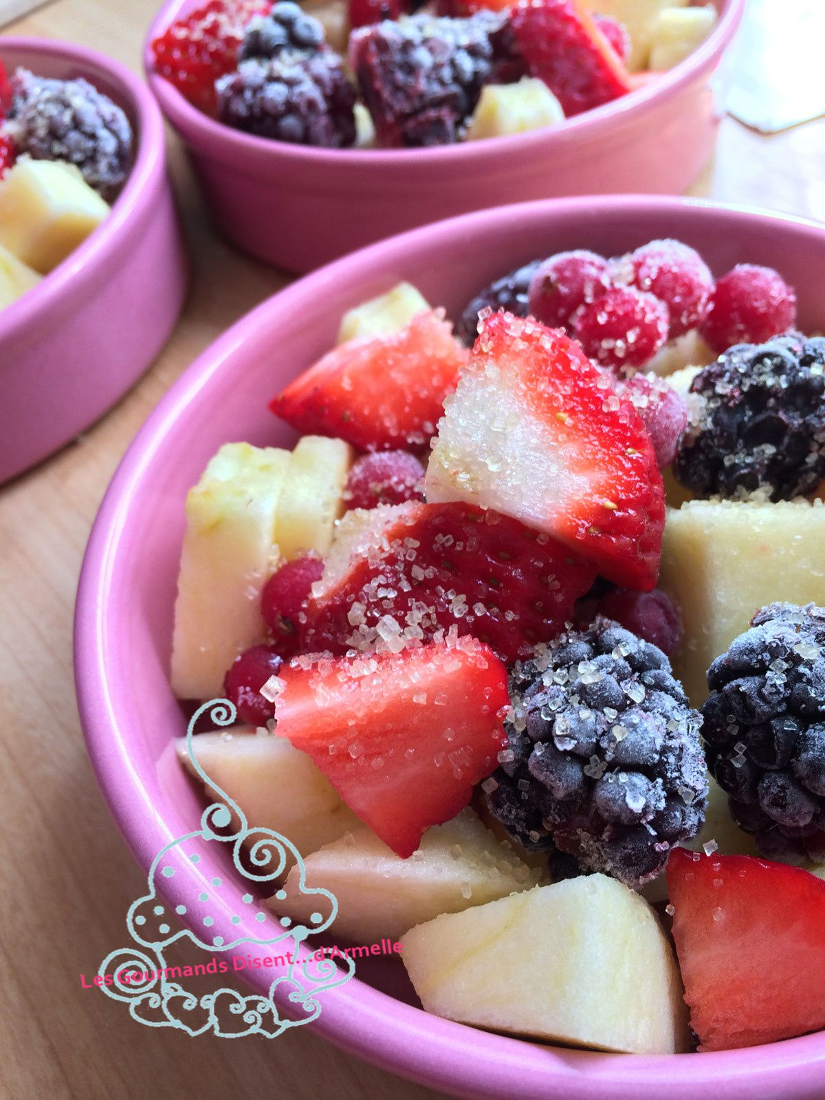 Crumble Fruits Rouges et Lavande