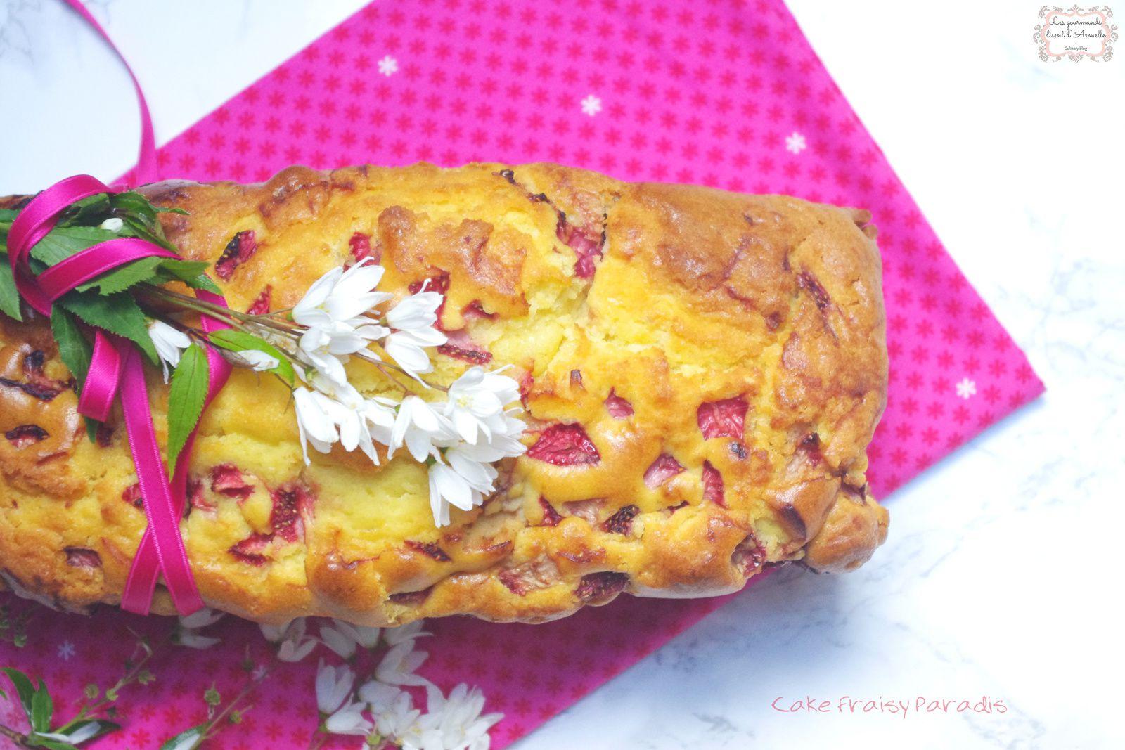 | Cake Fraisy Paradis | © Les Gourmands {disent} d'Armelle