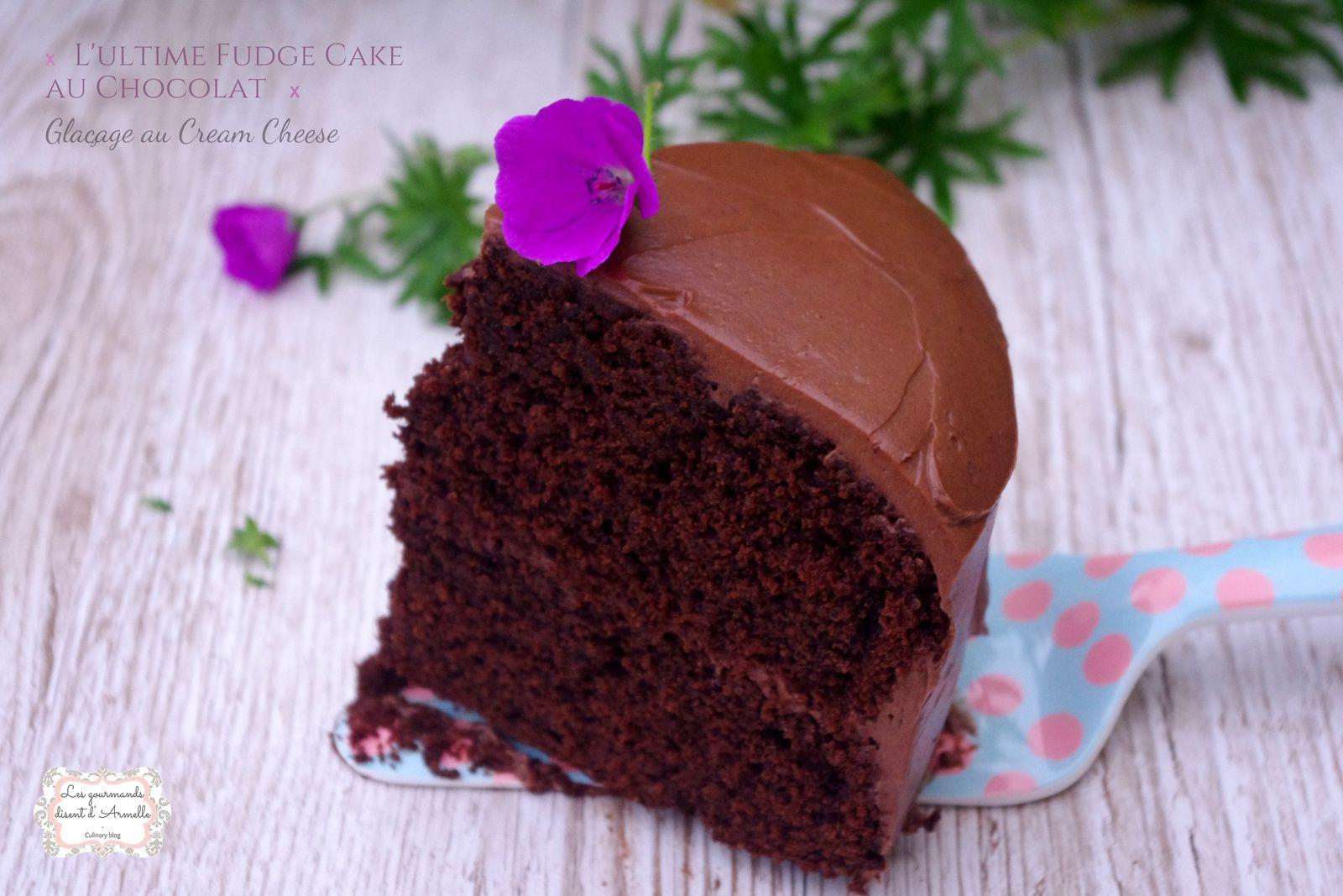 | L'ultime Fudge Cake au Chocolat | © Les Gourmands {disent} d'Armelle