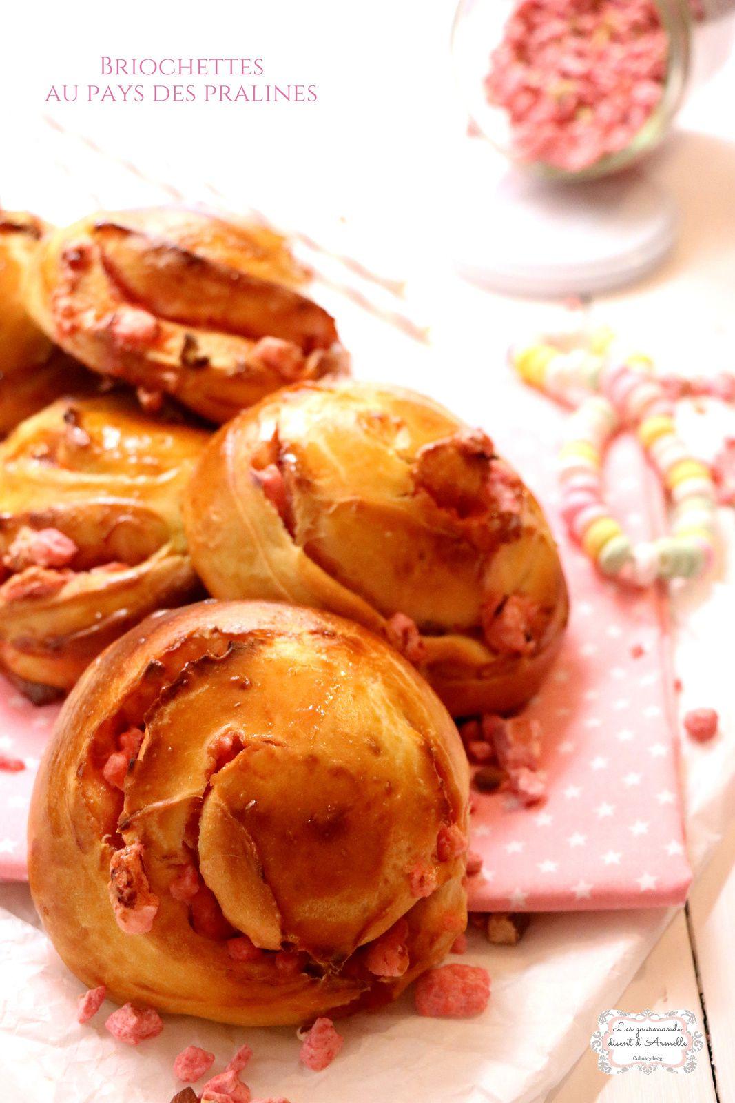 | Briochettes au pays des pralines | © Les Gourmands {disent} d'Armelle