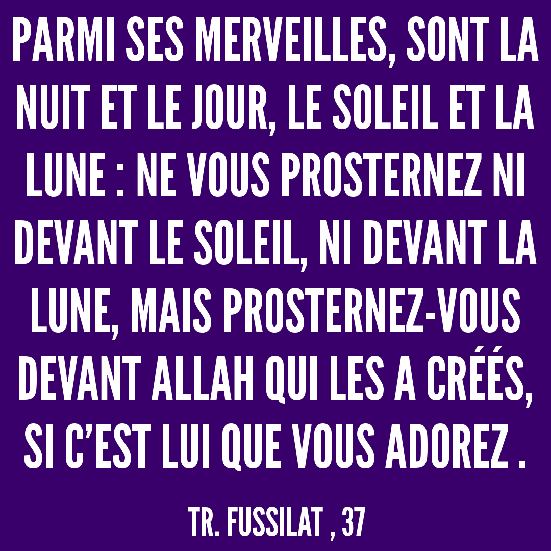 Rainbow'Rappels de la Sourate 41