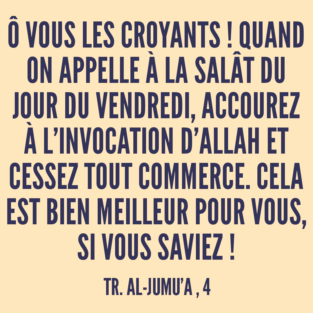 Rainbow'Rappels de la Sourate 62