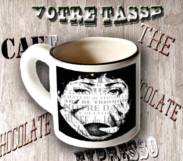 Une tasse qui peut être personnalisée à volonté.