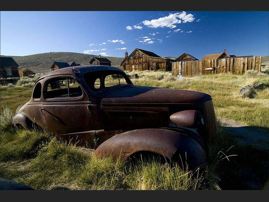 Bodie, Californie, Usa, ville fantôme, ruée vers l'or, Lieu insolite et abandonné