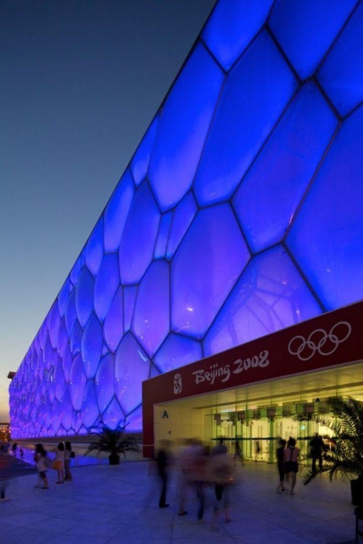 Cube D'Eau, Water Cube, Beijing, Chine, Jeux Olympiques 2008, Lieu Insolite