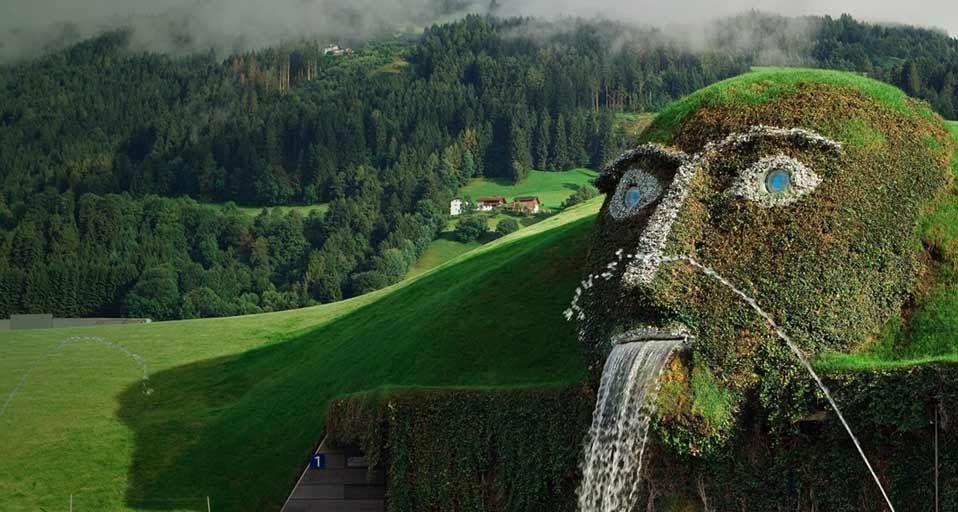 Le Monde de Cristal, Swarovski, Autriche, Wattens, Lieu insolite