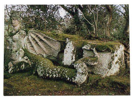Le parc des Monstres, Jardin de Bomarzo, Italie, lieu insolite