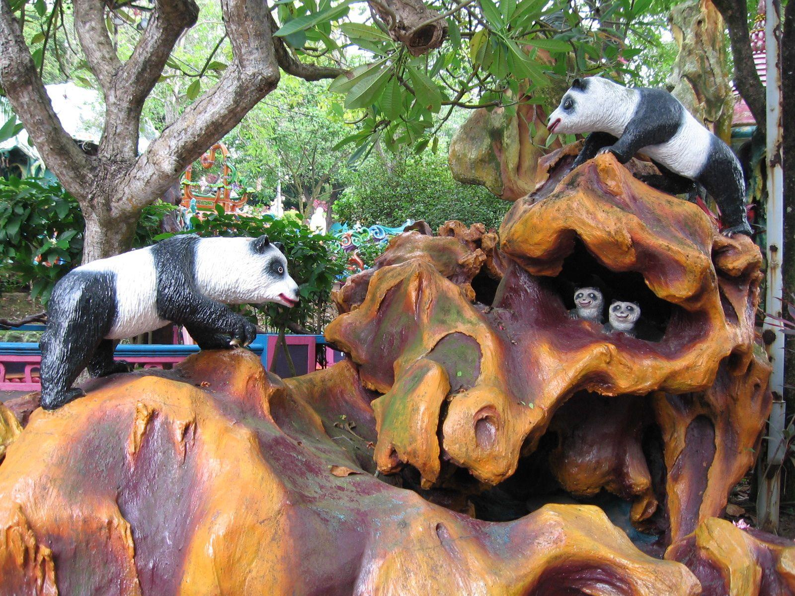 Haw Par Villa, Tiger Balm Gardens, Singapour, lieu insolite