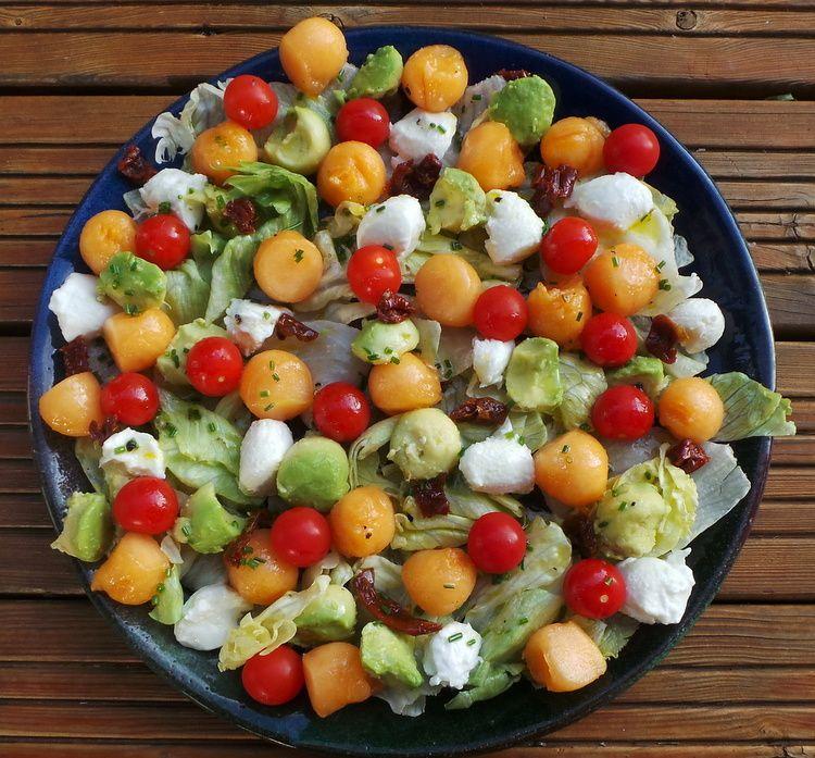 Salade D 39 T Tomates Cerises Courgettes Au Curry