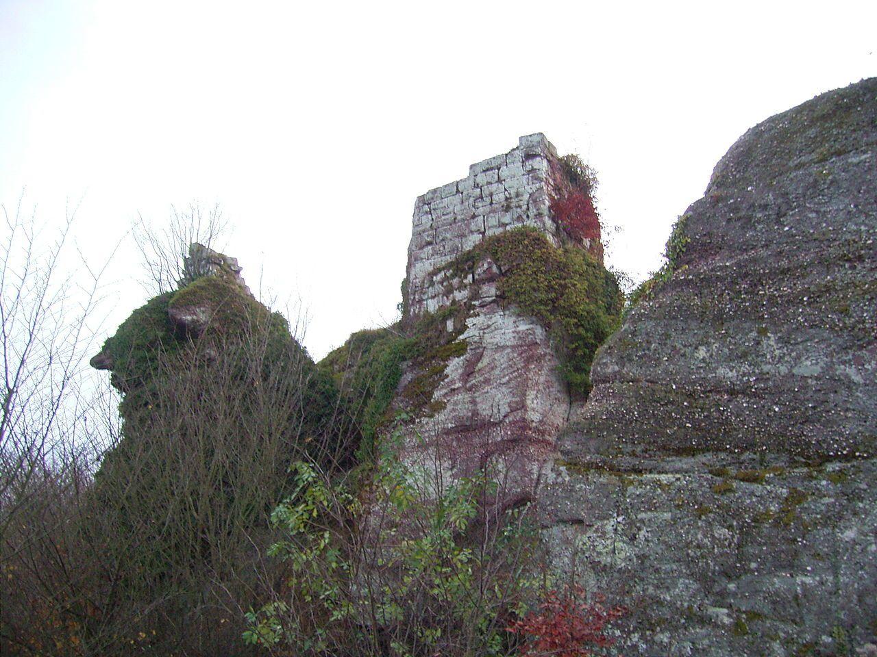 Le Château du Grand Ringelstein, Bas-Rhin, Alsace