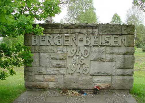 Bergen-Belsen, Camp de concentration, Basse-Saxe, Allemagne