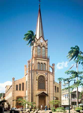 La Cathédrale Saint-Louis, Fort de France, histoire, Martinique