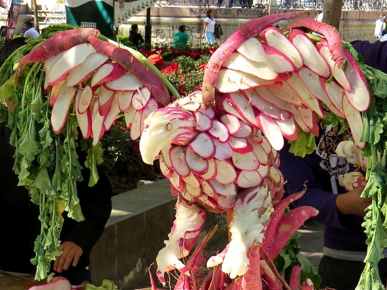 La fête des radis, Fiesta de los rabanos, Oaxaca, Mexique