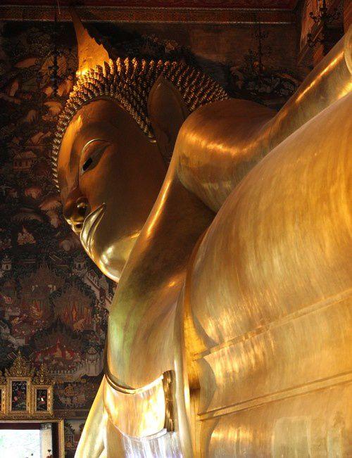 Wat Pho, Temple du Bouddha couché, Bangkok, Thaïlande