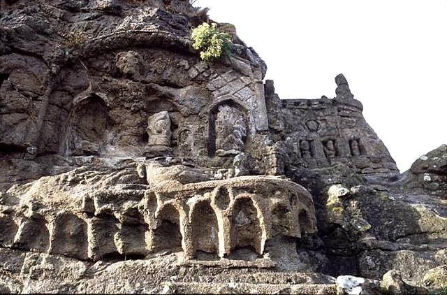Les Rochers Sculptés de Rothéneuf, Saint-Malo, Bretagne, France