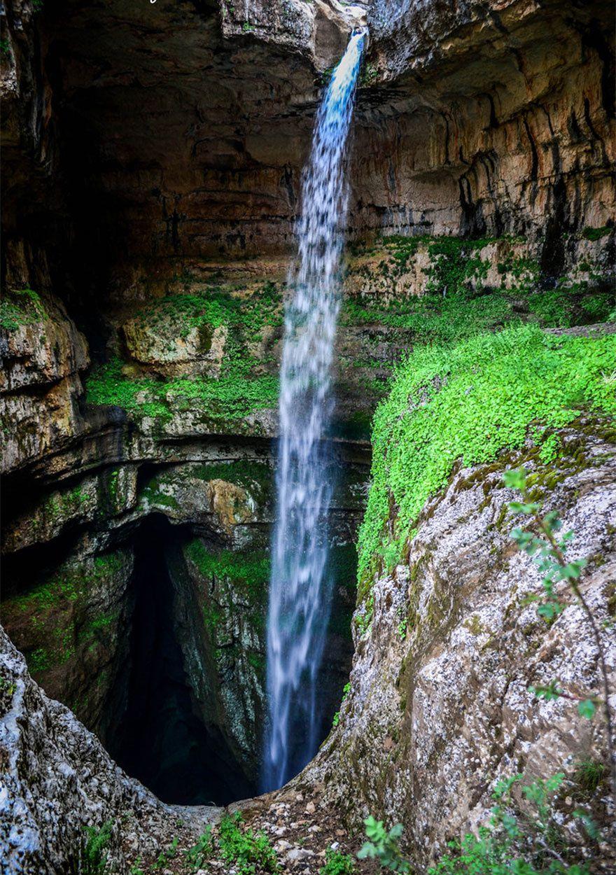 Le gouffre de Baatara, Gouffre des 3 ponts, Liban