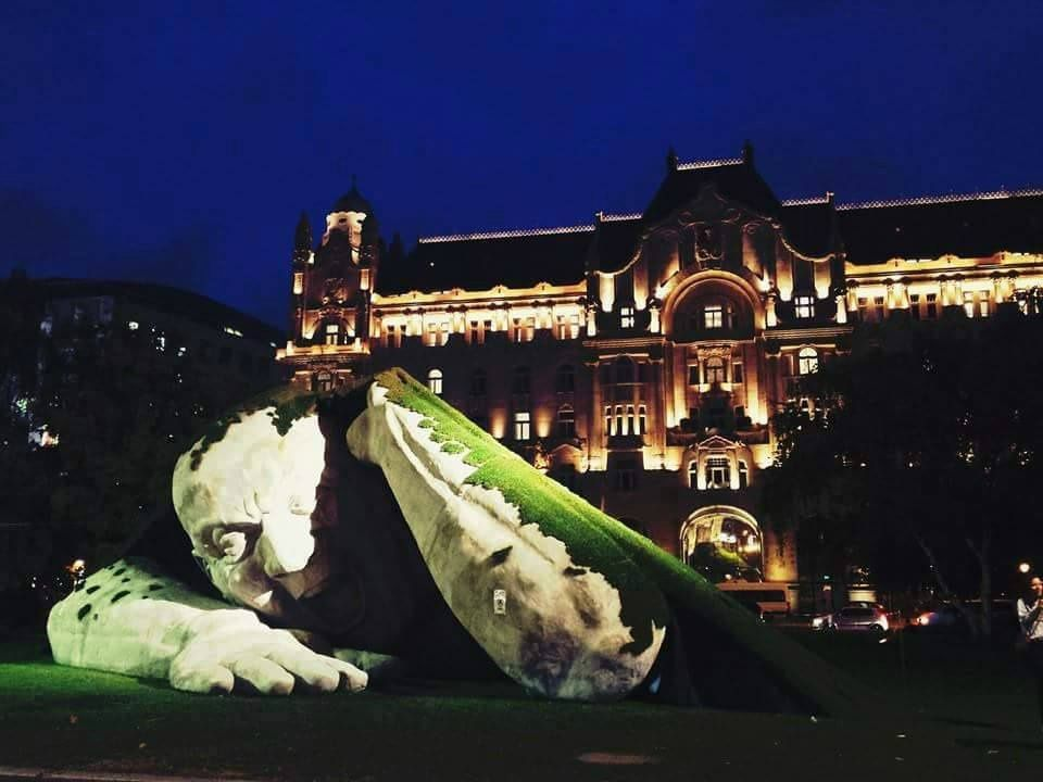Etonnante Sculpture, Hervé Loranth Ervin, Budapest, Hongrie