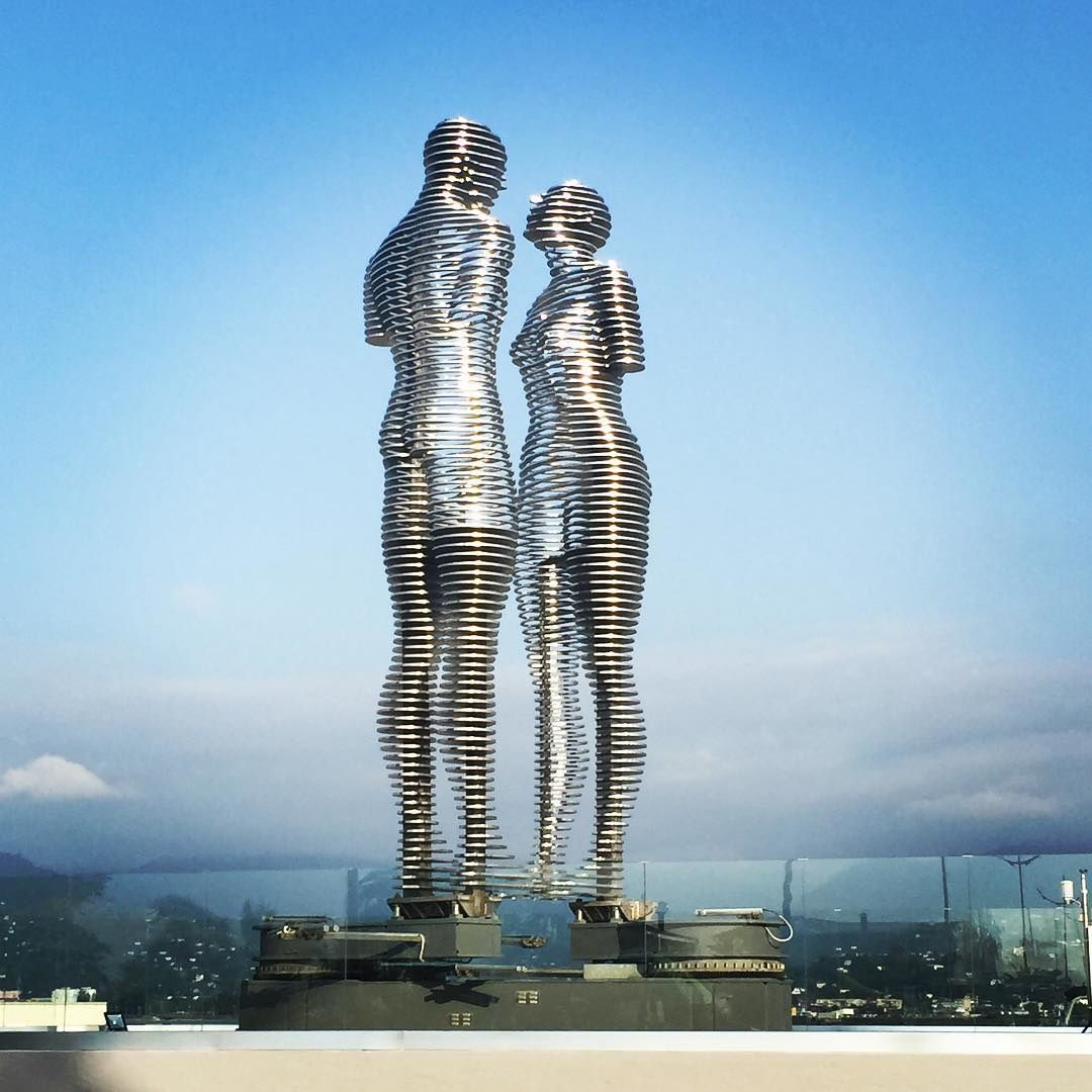 Un homme et une femme, Batumi, Tamara Kvesitadze, Géorgie
