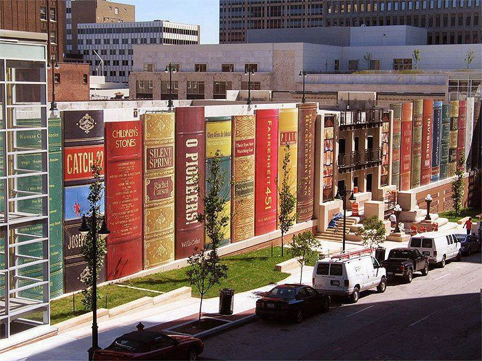 La bibliothèque de Kansas City, la plus célèbre au monde, USA