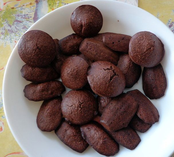 Les madeleines tout choco, recette