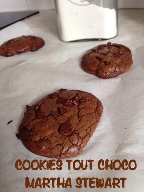 Les cookies tout choco... de Martha Stewart