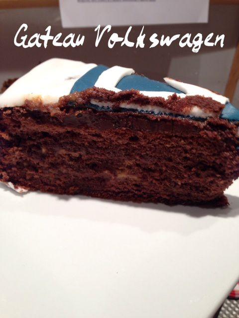 Gâteau anniversaire Volkswagen