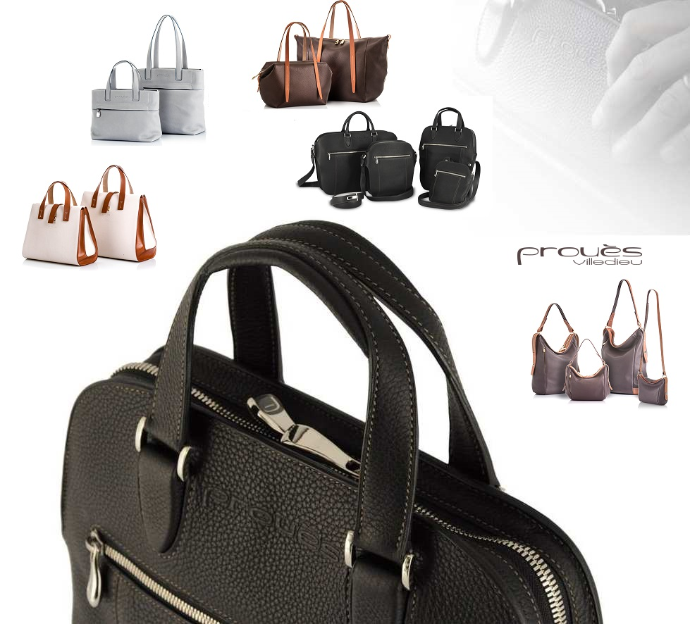 Prouès, maroquinerie de luxe française présente sa collection Diplomat