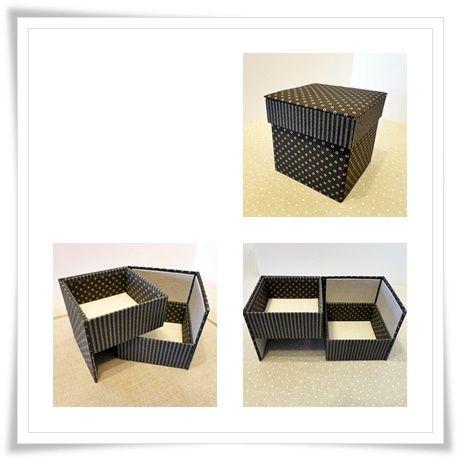 "La boîte ""cube""."