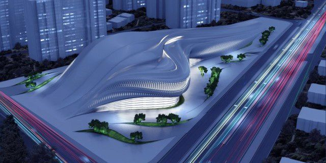 Architecture futuriste art tech magazine for Architecture futuriste ecologique