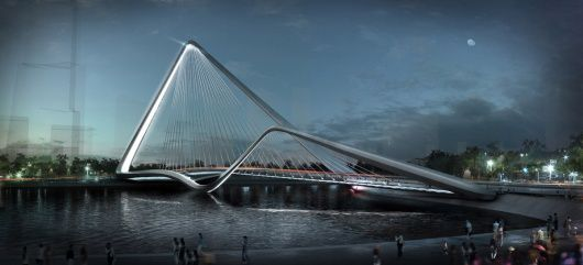 Infinity Loop Bridge - 10 Design + Buro Happold
