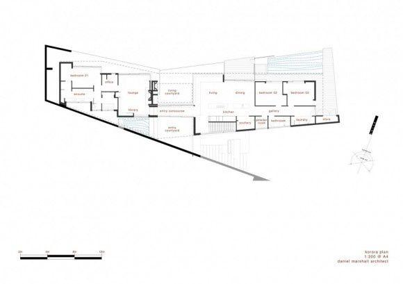 KORORA HOUSE - DANIEL MARSHALL ARCHITECTS