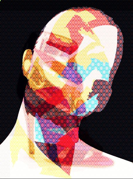 Marcal Lourenzoni is a brazilian digital designer who develops panels of contemporary art in digital format.
