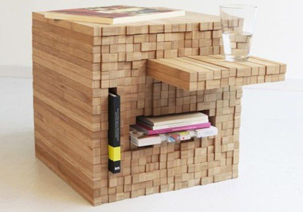 Pixel Table -  Intussen Studio