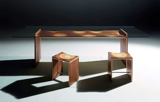 Wood Dining Room Furniture - Toyo Ito