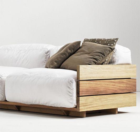 Pallet sofa - Piero Lissoni