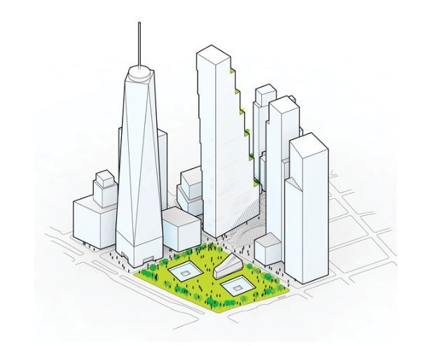 2 World Trade Center - Bjarke Ingels Group