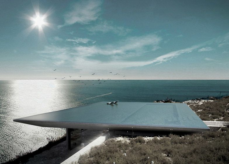 Rooftop infinity pool - Kois Associated Architects