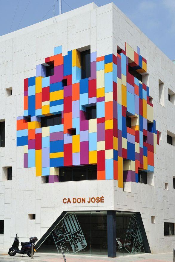 cultural centre ca don jos hector luengo arquitectos