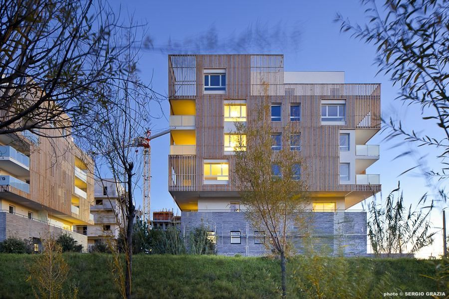 Greensquare dwellings - Flint Architects