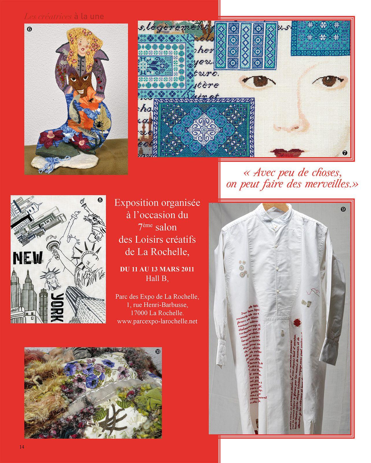 Agnès ZAMBONI ® CREATION POINT DE CROIX - 2011 - Photos Copyright : Olivier Schindler