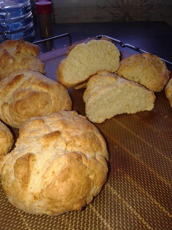 Petits pains express sans pétrissage ail huile d'olive
